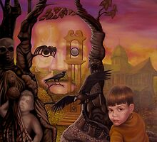EDGAR ALLEN POE by Jerel Baker