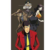lupin the 3rd third fujiko jigen goemon inspector zenigata anime manga shirt Photographic Print