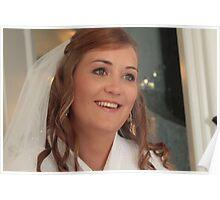 Smiling Bride Poster