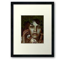 Jungle Slang Framed Print