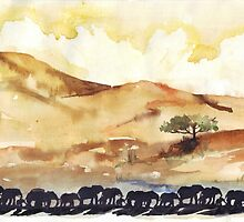 African Silhouettes by Maree  Clarkson
