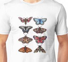 Moths & Butterflies Unisex T-Shirt