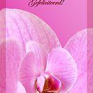 Pink Orchid - Gefeliciteerd  by steppeland