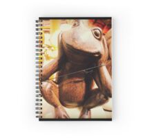 Little French Frog Spiral Notebook