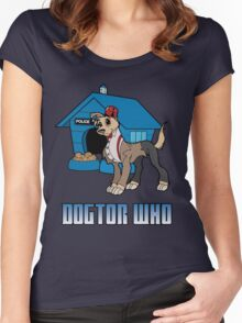 Dogtor Who 11 Women's Fitted Scoop T-Shirt