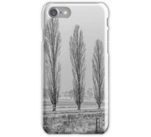 Winter Trees - Uralla NSW Australia iPhone Case/Skin