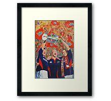 Munster Heiniken Cup Winners 2008 Framed Print