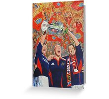 Munster Heiniken Cup Winners 2008 Greeting Card