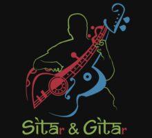 SITAR GUITAR by Saksham Amrendra