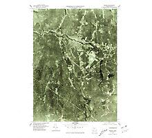 Massachusetts  USGS Historical Topo Map MA Orange 351190 1975 25000 Photographic Print