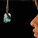 Glass pendant by jon  daly