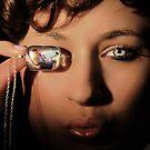 glass pendant 2 by jon  daly