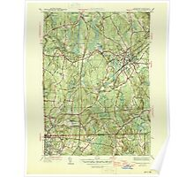 Massachusetts  USGS Historical Topo Map MA Franklin 351708 1946 31680 Poster