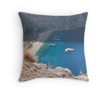 Butterfly Valley - Olu Deniz, Turkey Throw Pillow