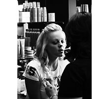 """""""The Make-up Session"""" Photographic Print"""
