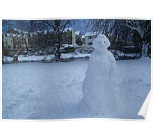 Frosty the Snowman Poster