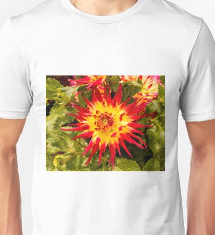 Dahlia In Bloom 4 Unisex T-Shirt
