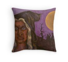The wicked Witch will cast a spell on you... Throw Pillow