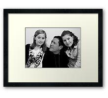 Dorine,Kirby,Ella Mae 2010 Framed Print