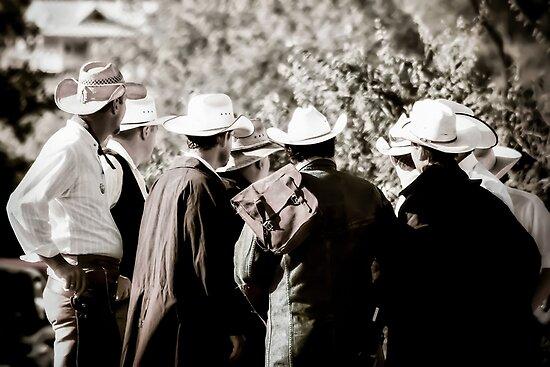 Cowboy Bunch by Trish Mistric