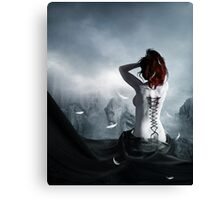 the corset of a angel Canvas Print