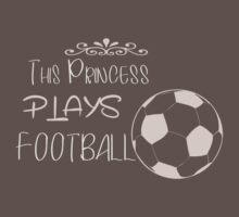 This princess plays football Kids Clothes