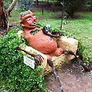 """Couch Potato"" on farm called ""Woop Woop"" - Castlemaine, Vic. by EdsMum"