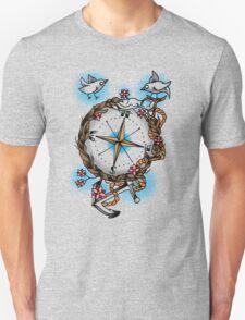 Nature's compass  Unisex T-Shirt