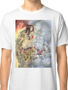 Chaos Sisters  Quelaag and Fair Lady (Quelan) Classic T-Shirt