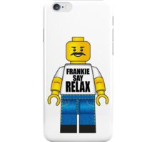 Lego Frankie Say Relax iPhone Case/Skin