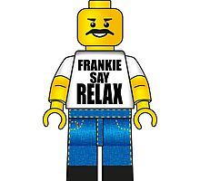 Lego Frankie Say Relax Photographic Print