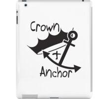 Crown & Anchor iPad Case/Skin