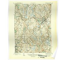 Massachusetts  USGS Historical Topo Map MA Franklin 351706 1946 31680 Poster