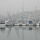 Misty morning, Brixham by StephenRB