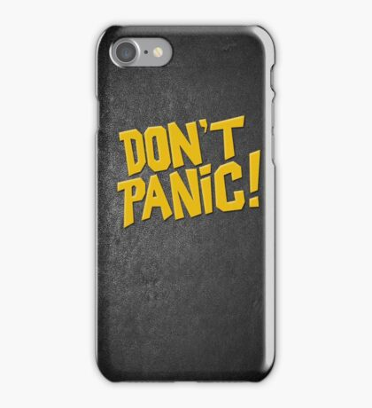 Hitchhikers Guide to the Galaxy iPhone Case/Skin