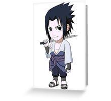 Samurai Sasuke Greeting Card