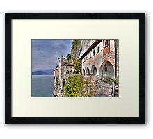 Hermitage S. Caterina del Sasso Framed Print