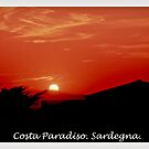 Costa Paradiso sunset. Sardinia.Italy.Brown Sugar 2003. by © Andrzej Goszcz,M.D. Ph.D