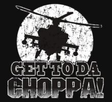 Get to da Choppa One Piece - Long Sleeve