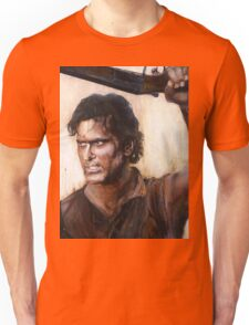Bruce Campbell V.S Army of Darkness Unisex T-Shirt