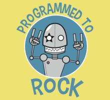 Programmed to Rock Kids Clothes