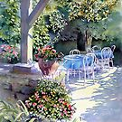 Sunny Terrace by Ann Mortimer