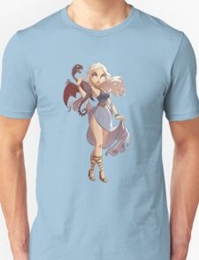 Daenerys Illustrated Pin Up T-Shirt