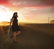 Sunset 3 - Erika Williams by Bumzigana