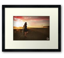 Sunset 3 - Erika Williams Framed Print