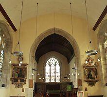 St Mary The Virgin, Nettlestead, Interior by Dave Godden