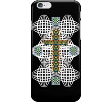 Abstract Cross iPhone Case/Skin