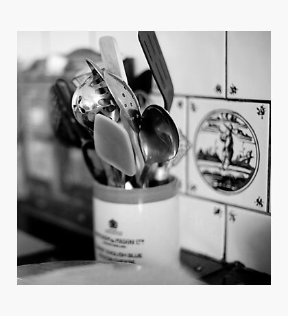 spoons and spatula Photographic Print