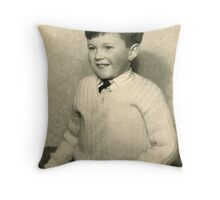 Mikey! Whaur's yer troosers? Throw Pillow