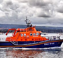 Returning To Port ~ *Royal National Lifeboat Institution* by Clive